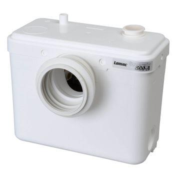 Lomac Suverain 500-A WC Hebeanlage Fäkalienpumpe mit Schneidwerk – Bild $_i