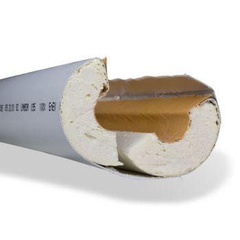 Rohrisolierung 28x30 mm ISOTUBE 035 PU-R Schaum Rohrdämmung – Bild $_i