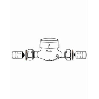 100x PE Wasserzähler 3/4 Zoll ( 23 x 29 mm ) Dichtungen – Bild $_i