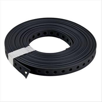 Montagelochband 27mm 10m PVC ummantelt Lochband Montageband Nagelband – Bild $_i