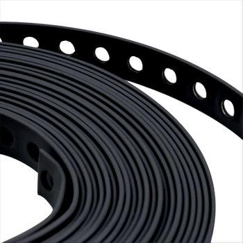 Montageband 27mm 10m Lochband Kunststoff ummantelt – Bild $_i