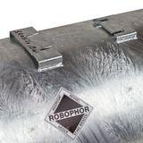Heider Robophor Druckbehälter 200 L Liter 6 bar Druckkessel liegend verzinkt