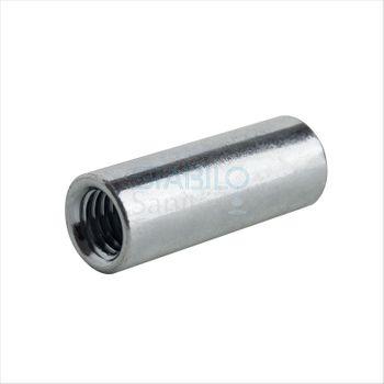 Gewindemuffe M8 x 30 mm Distanzmuffe Stahl verzinkt
