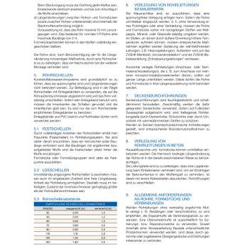 20x HT Rohre DN50 x 250 mm Kunststoff Abwasserrohre grau – Bild $_i