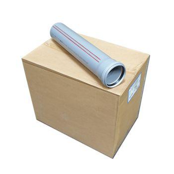 10x HT Rohre DN110 x 500 mm Rohr 100 mm Abwasserrohre grau – Bild $_i