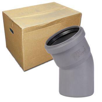 Karton HT Bogen 20Stk. DN50/30° HTB für Abwasserrohr – Bild $_i