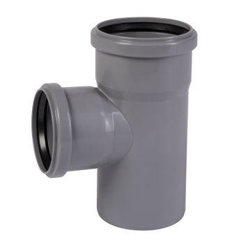 Karton HT Abzweig DN110/110/87° Rohr HTEA Abwasserrohr – Bild $_i