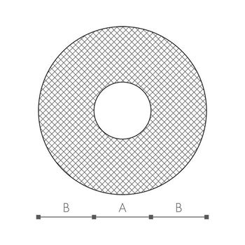 Rohrisolierung 15 x 13 mm / 200 cm PE Schaum Isolierung – Bild $_i
