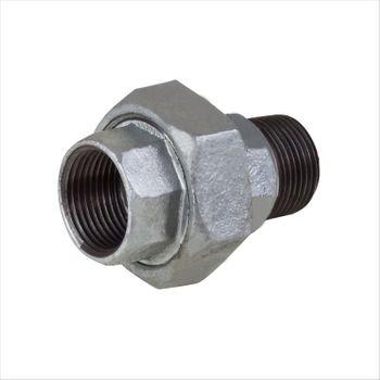 Rohr Verschraubung 1 Zoll IG/AG DN25 verzinkt mit Dichtung – Bild $_i