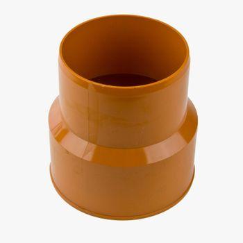 KG Anschluss DN110 Gussrohr-Spitzende 100 mm KGUG Abwasserrohr – Bild $_i