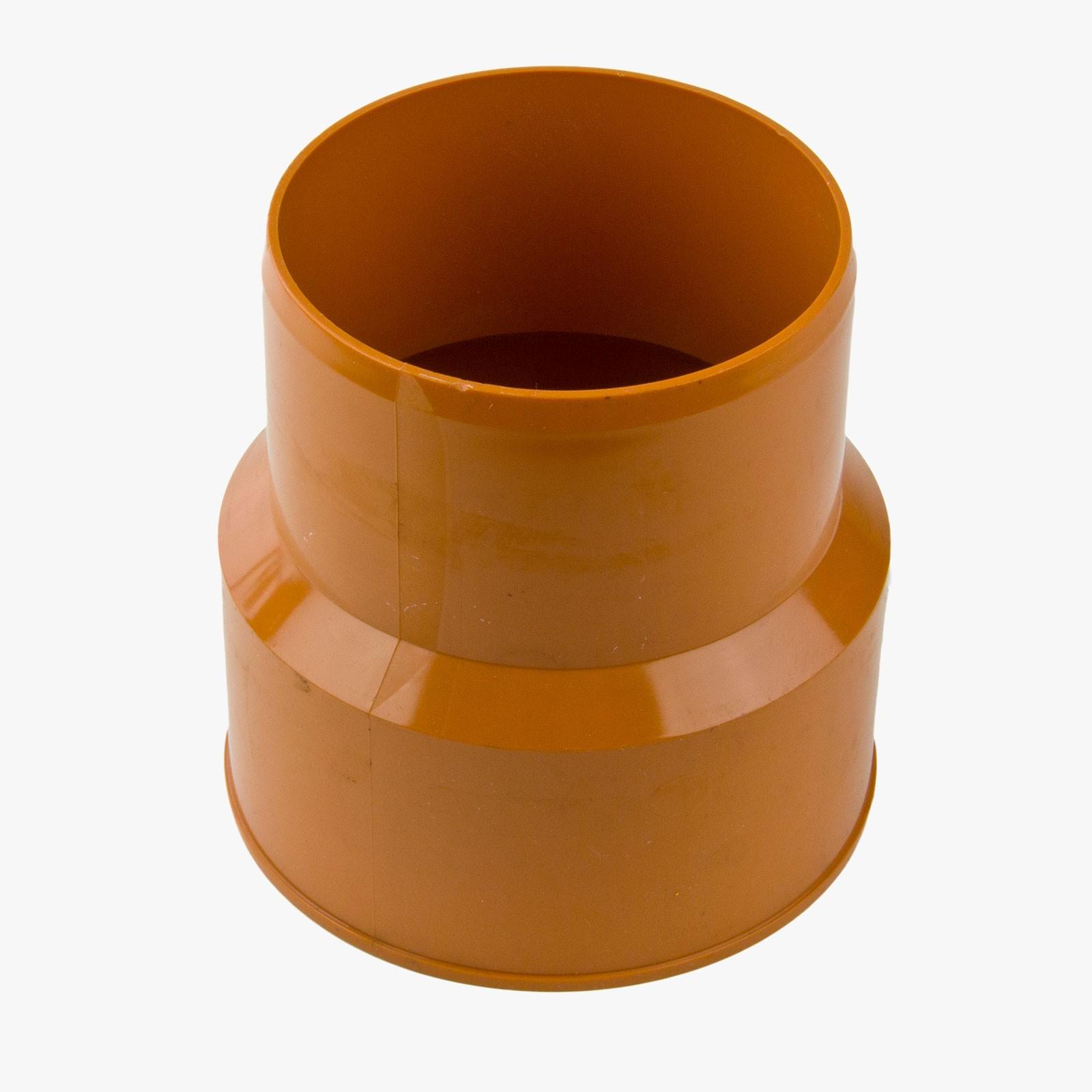 Guss auf PVC DN 125 KGUG Übergang