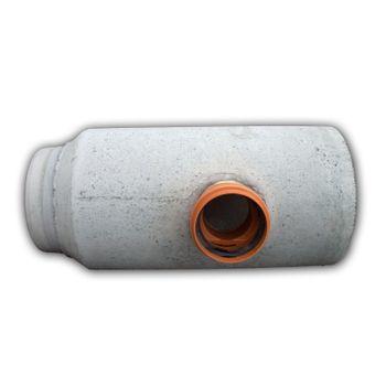 KG Anschluss DN 125 Steinzeugrohr-Spitzende KGUS Abwasserrohr – Bild $_i