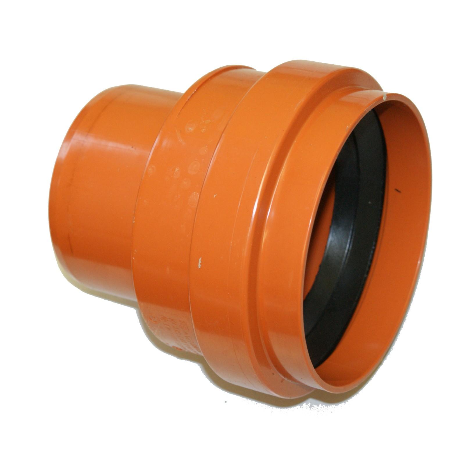 KGEM KG-Rohr mit Steckmuffe und Gummidichtring DN 315 L/änge 1000 mm