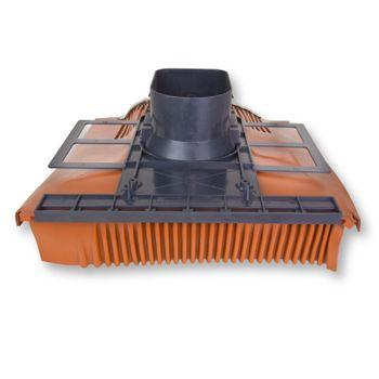 Venduct Universeller Flachlüfter DN100 für Solaranlage – Bild $_i