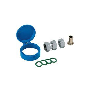 Zapfhahnzähler Wasserzähler 3/4 Zoll Qn 1,5 - kalt – Bild $_i