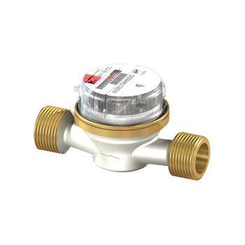 """Deltamess Wasserzähler Wasseruhr Aufputz DELTA 3/4"""" x 130mm Warmwasser – Bild $_i"""