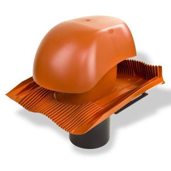 Klöber Venduct Lüfter-Set DN150 rot Universal Dunstabzug Abluft – Bild $_i