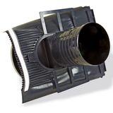 Klöber Venduct Lüfter-Set DN150 schwarz Universal Dunstabzug