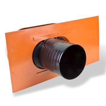Klöber Venduct Lüfter-Set DN150 rot Schiefer / Biber Abluft – Bild $_i