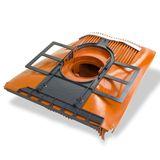 Klöber Venduct DUO Solardurchführungs Set rot Universal