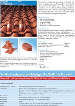 Klöber-Set10 Dachentlüftung DN100 Braun kurz Frankfurter Pfanne – Bild $_i