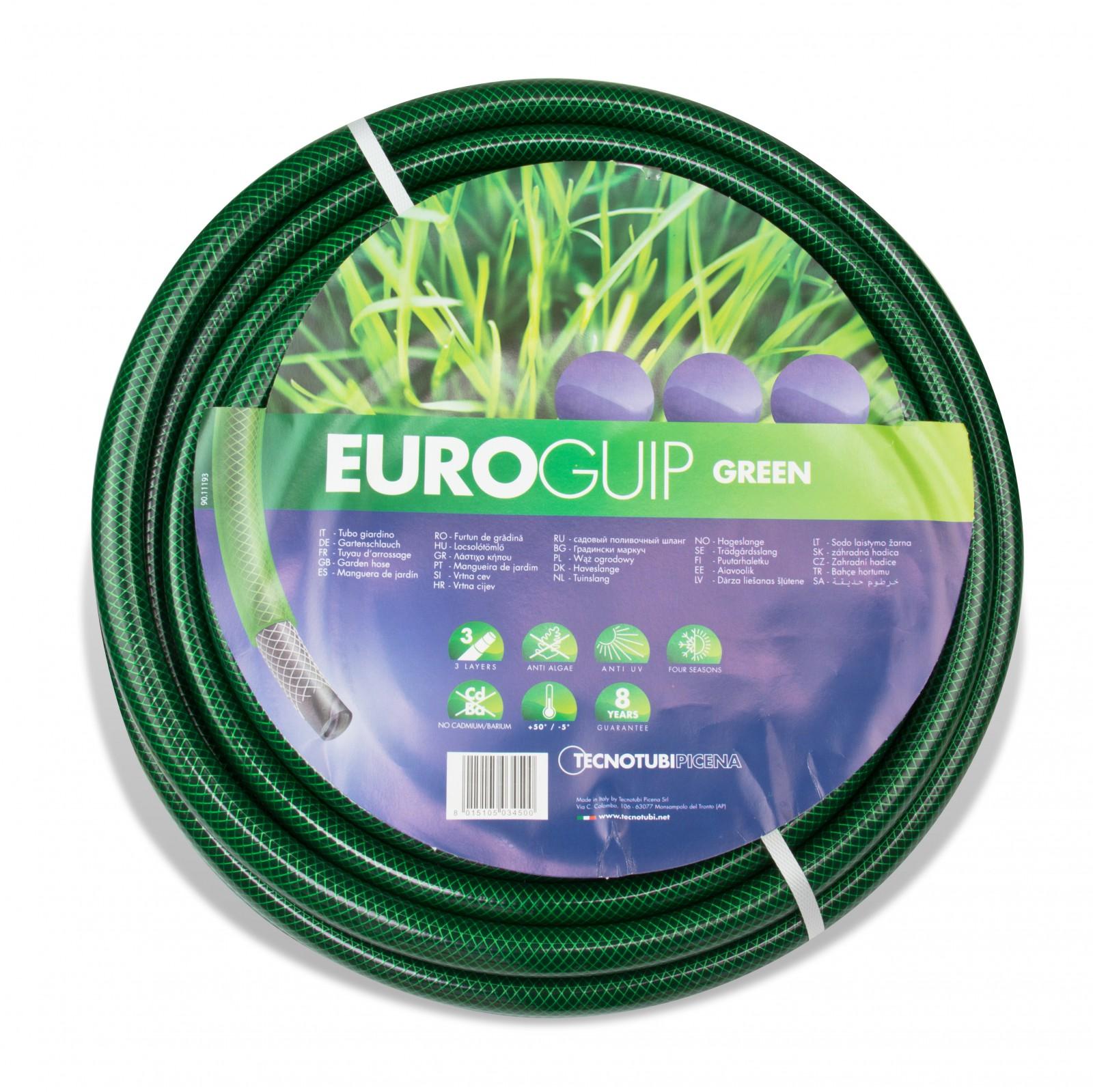 Hervorragend Gartenschlauch 13mm 1/2 Zoll 50m grün Wasserschlauch PVC Schlauch TS16