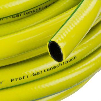 """Profi Gartenschlauch 19mm 3/4"""" 50m gelb, 3-lagig, Wasserschlauch – Bild $_i"""