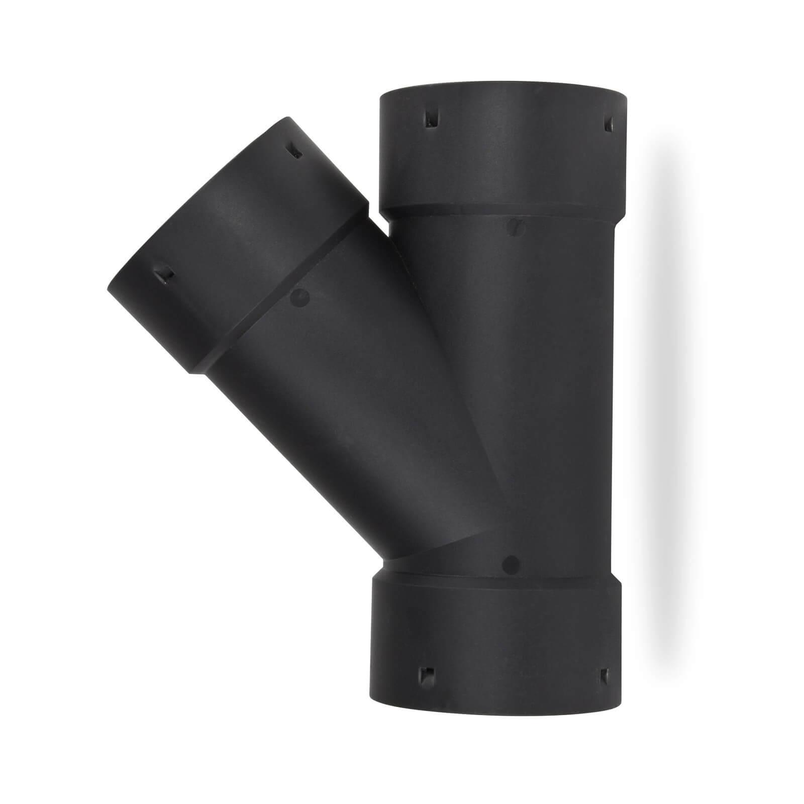 STABILO Sanitaer T-St/ück DN 65 mm Abzweig Drainagerohr Drainageschlauch Dr/änagerohr Dr/änageschlauch Drainage Dr/änage Drainrohr