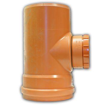 KG Reinigungsrohr / Revisionsöffnung DN250 KGRE Abwasserrohr – Bild $_i