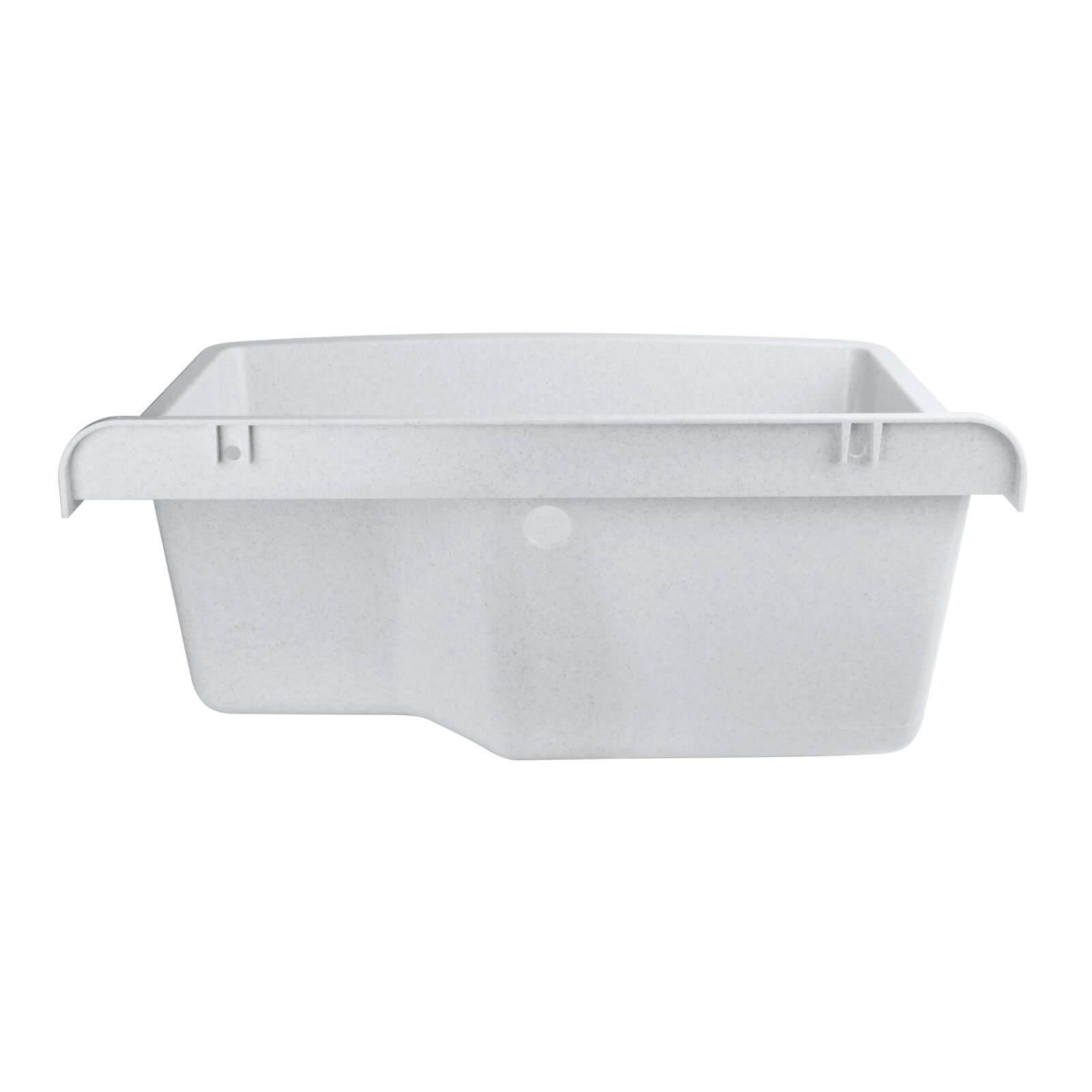 Kunststoff ausgussbecken 61x44x23 cm maximus 40l gro xxl for Kunststoff waschbecken