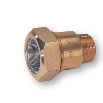 Messing Klemmverbinder Verschraubung 3/4 Zoll AG x 26,9 mm – Bild $_i