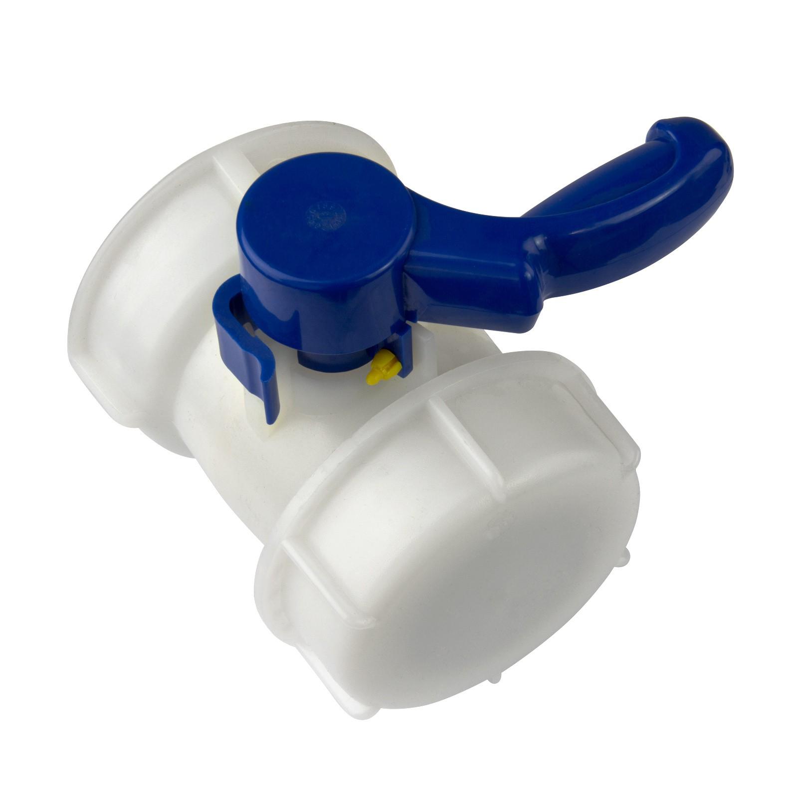 Für IBC Container Zubehör Adapter Deckel PVC Kunststoff Hahn Behälter DE