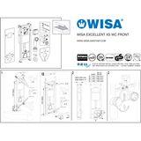 WISA XS WC Vorwand Element Trockenbau Einbau
