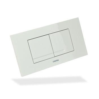 WISA XT Drückerplatte Kantos DF Weiß Bedienungsplatte Betätigungsplatte – Bild $_i