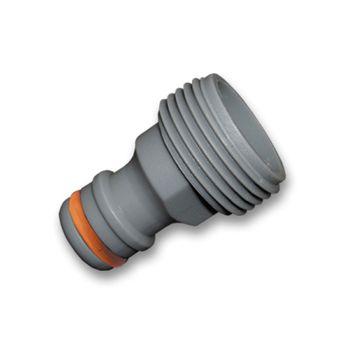 """Kunststoff Hahnstück 3/4"""" AG 26,5mm Hahnverbinder Steckkupplung – Bild $_i"""