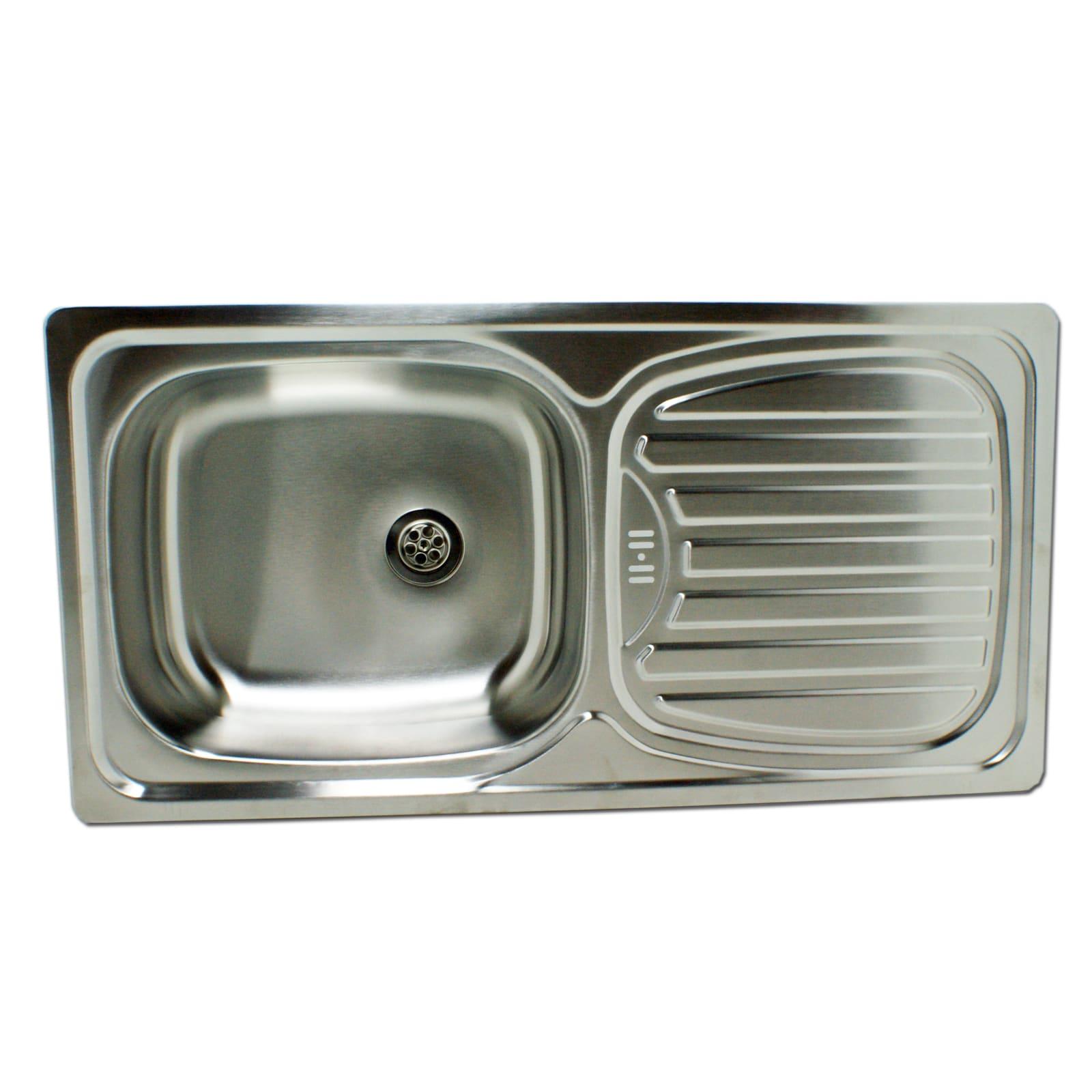 Edelstahl Waschbecken edelstahl waschbecken spüle einbauspüle spülbecken küchenspüle