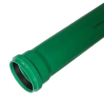 KG 2000 Rohr DN125 x 1000 mm Abwasserrohr Kanalrohr grün – Bild $_i