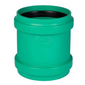 KG 2000 Überschiebmuffe DN200 Muffe Abwasserrohr Kanalrohr grün – Bild $_i
