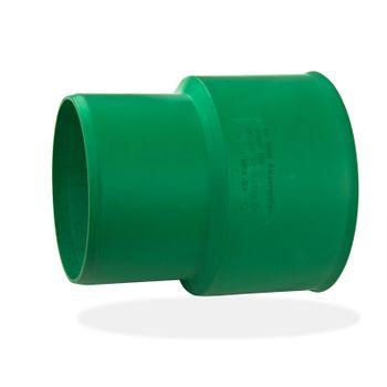 KG 2000 KGUG Anschluß DN110 an Gußrohr-Spitzende grün – Bild $_i