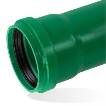 KG 2000 Lippendichtring DN160 Lippendichtung Abwasserrohr grün – Bild $_i