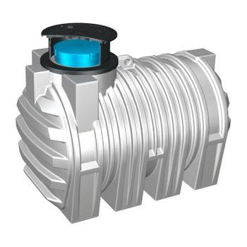 Trinkwasser-Erdtank 3300l Trinkwassertank Trinkwasserbehälter – Bild $_i