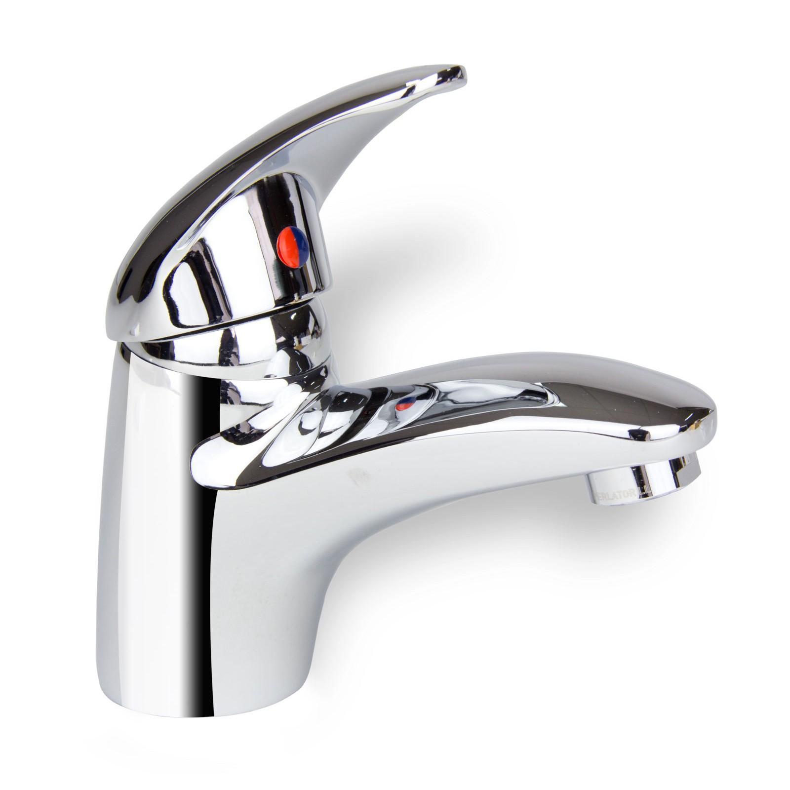 Details zu Badarmatur Mailand Mischbatterie Waschbecken Einhebelmischer Bad  Wasserhahn