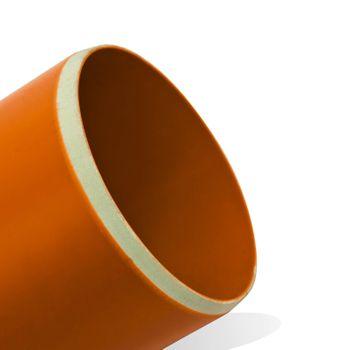 9x KG Rohr DN 315 / 1000 mm Abwasserrohr Kanalrohr orange – Bild $_i