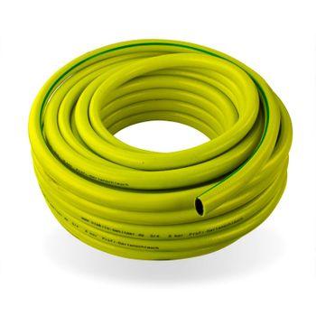 Profi Gartenschlauch 30 mm / 1 1/4 Zoll / 50 m gelb Wasserschlauch – Bild $_i