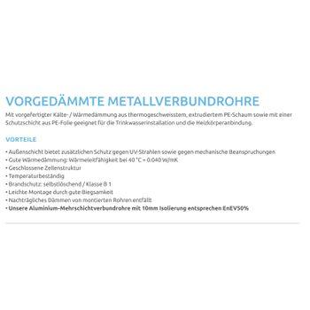 Aluverbundrohr 26x3 / 6 mm rot 25m Mehrschichtverbundrohr – Bild $_i