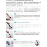 Pipetec Pressfitting Übergang 16x2 mm - 1/2 Zoll AG TH Kontur Verbundrohr