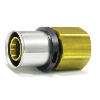 Pressfitting Übergang 26x3 mm - 1 Zoll IG TH Kontur Verbundrohr – Bild $_i