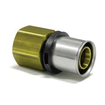 Pressfitting Übergang 32x3 mm - 1 1/4 Zoll IG TH Kontur Verbundrohr – Bild $_i