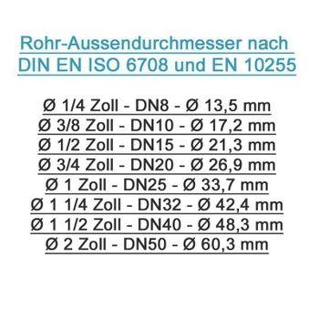 Pressfitting Winkel Übergang 20x2 mm 3/4 Zoll AG TH Kontur – Bild $_i