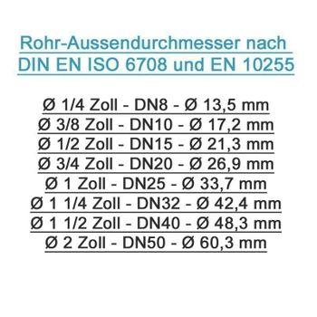 Pressfitting Winkel Übergang 16x2 mm 1/2 Zoll IG TH Kontur – Bild $_i